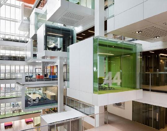 Architettura e ufficio come coccolare l impiegato for Ufficio architetto design