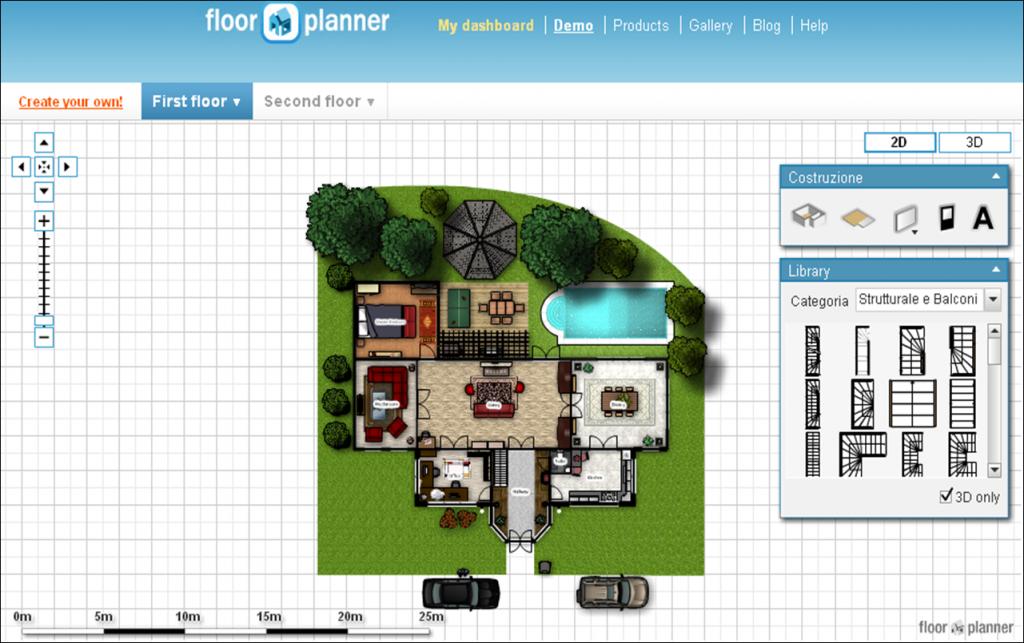 Software per disegnare mobili for Disegnare casa online gratis