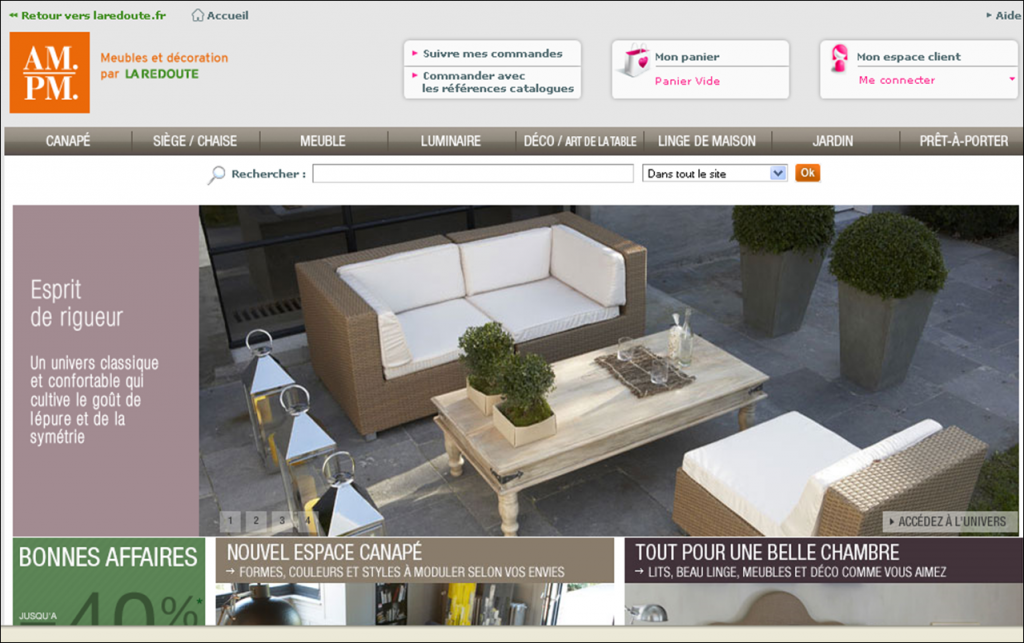 Design oggi c lo shopping online design and more for Arredamento francese on line