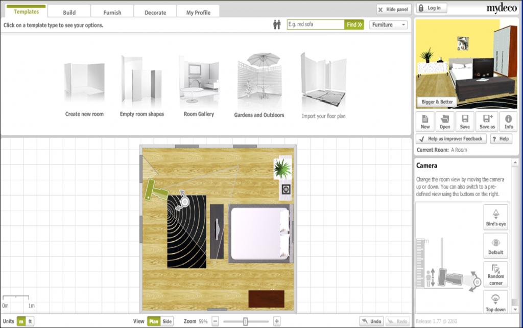Software per disegnare mobili software per disegnare for Disegnare stanza online