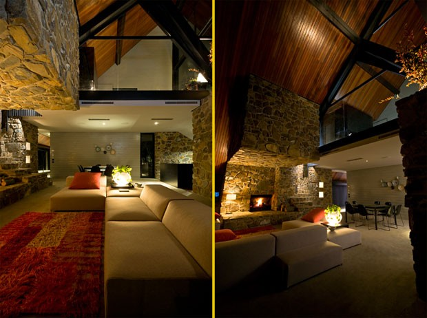 Un loft di montagna design and more interior design for Arredamento di montagna