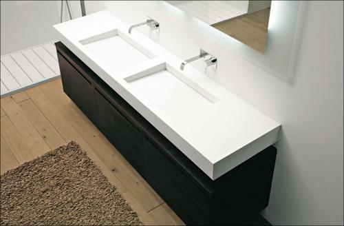 nuovi trend per i mobili da bagno | design and more: interior ... - Arredo Bagno Corian