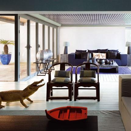 La casa di vacanze di giorgio armani design and more for Armani arredo casa