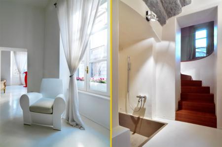 Il disimpegno con la scala design and more interior design arredamento casa - Ristrutturare casa antica ...