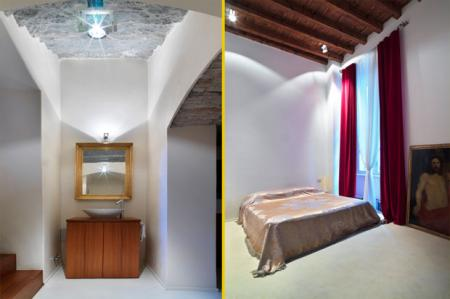 La camera e il bagno padronali design and more interior - Ristrutturare casa antica ...